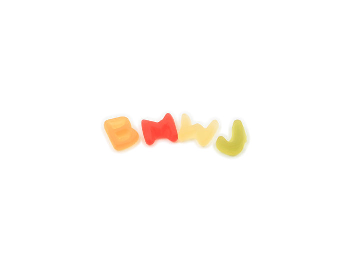 letters haribo