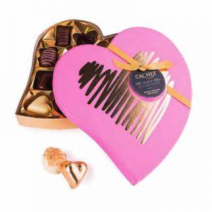 Z11 valentijn hart pralines geld inzamelen